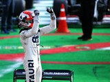 Hamilton praises victor Gasly, takes blame for penalty