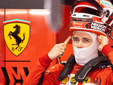 Leclerc knows he was 'lucky' with podium finish