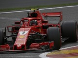 Belgian Grand Prix: Kimi Raikkonen fastest in Friday practice