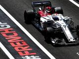 Marcus Ericsson out of FP2 after crash, fire