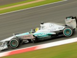 Rosberg Fastest After Wet Start To Silverstone Weekend