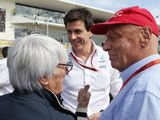 'Wolff and Stroll held breakaway talks with Bernie'