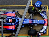 First major test setback for Toro Rosso