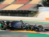 Successful Test Days for Mercedes as Bottas, Mazepin Set the Pace in Spain