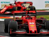Charles Leclerc remains fastest as Lewis Hamilton closes in during Monza FP2
