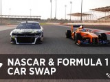 Video: Jimmie Johnson and Fernando Alonso car swap: Nascar v F1