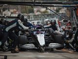 Russell: Inters 'like a slick' due to qualifying usage