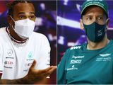 Hamilton alongside Vettel: F1's press conference twist