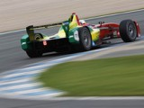 Formula E: Abt sets new lap record at Donington