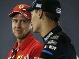 Vettel feels sorry for 'poor soul' Russell