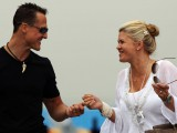 Schumacher's condition 'improving', says wife