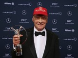 Niki Lauda receives Laureus lifetime achievement award
