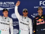 Hamilton beats Rosberg to USGP pole