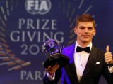 Verstappen collects three FIA awards