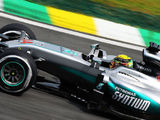 Closely matched Mercedes pair dominates FP2