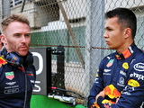 'Albon still off the pace in the 'A' race'
