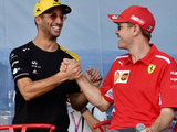 "Racing ""in all of our DNA"" but Vettel ""really lives and breathes it"" - Ricciardo"