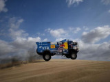 Dakar racer disqualified after hitting spectator with truck