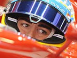 Alonso ups the ante in second session