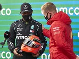 "Hamilton ""incredibly humbled"" to be honoured by Schumacher's family"