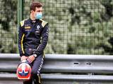 Lundgaard's Bahrain test in blue-liveried Renault
