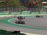 F3 driver Peroni walks away after huge crash at Monza