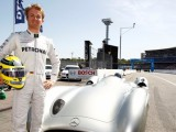 Rosberg to demo Fangio's W196 at Hockenheim