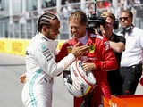 "Hamilton hopes Vettel's Montreal pole is Ferrari's ""turning point"""