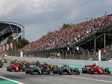 Bottas' Barcelona start down to grip