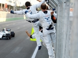 Stroll stunned by maiden F1 podium
