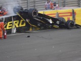Did Halo delay Hulkenberg's escape after Abu Dhabi crash?