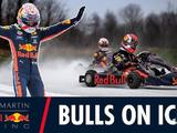 Video: Bulls on Ice - Max Verstappen and Pierre Gasly go ice-karting