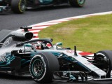 Japanese GP: Lewis Hamilton leads Mercedes one-two in practice one