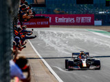 Tyre gamble pays off for Verstappen