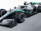 Meet the 2019 Mercedes F1 car, the W10