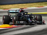 F1 Spanish GP: Hamilton tops FP3 session red flagged by Ocon shunt