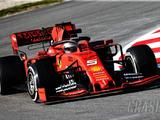 Ferrari, Vettel end opening day of F1 testing fastest