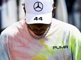 Late engine scare for Hamilton