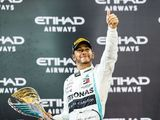 Lewis Hamilton collects sixth world title trophy after 'best season of my life'