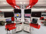 Experience life inside the Ferrari garage with Shell