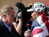 Brundle suggests 'grumpy' Hamilton not entirely happy with Mercedes deal
