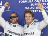 Hamilton takes dominant pole ahead of Rosberg