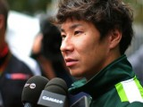 Kobayashi's Caterham safety 'scare'
