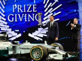 Hamilton officially crowned F1 champion again