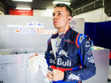 Albon still learning controls on Toro Rosso steering wheel
