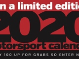 Win a limited edition 2020 Motorsport Calendar