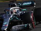 Hamilton: Mercedes W10 felt better in the winter