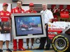 Shell and Ferrari celebrate 500 races together