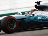 Lewis Hamilton tops the first practice session for F1's US GP