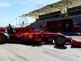 Leclerc heads Ferrari 1-2 in FP1